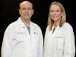 Dr. Mitchell Magee with Amber Bethea, PA-C