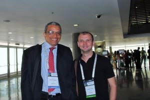 Dr. Rafael Beltran with Dr. Carlos Carvajal