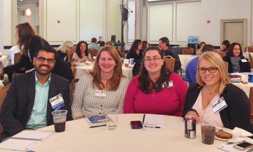 Attendees at the Factscare conference