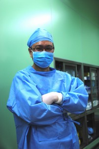 Dr. Boxiong Xie, thoracic surgeon