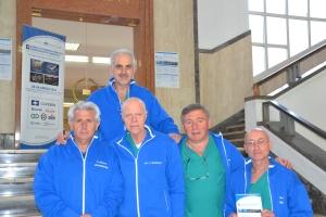 Thoracic surgery nurses at Hospital Monaldi