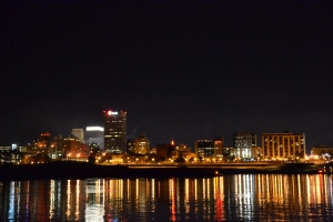 Memphis, Tennessee at night